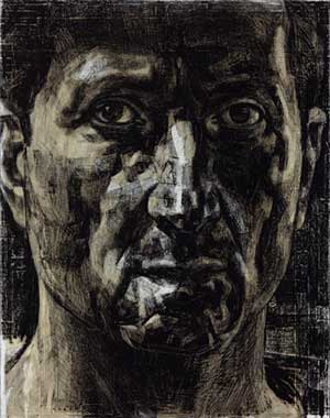 Drawing by Nick Mourtzakis - Winner of the 2006 Dobell Prize for Drawing