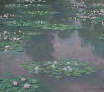 Painting: Water lilies