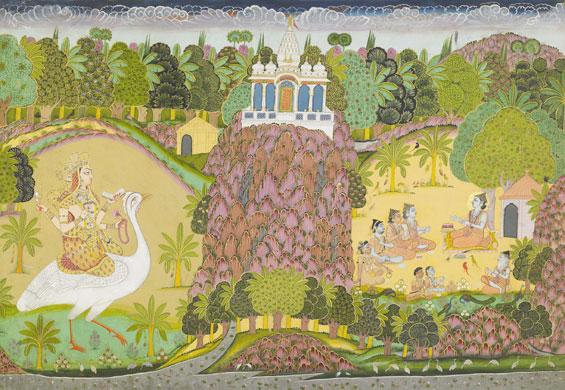 Ganesha, Saraswati, and Jallandharnath