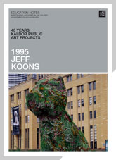 40 years: Kaldor Public Art Projects exhibition notes Jeff Koons 1995