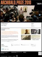 Archibald 2010 website