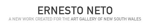Ernesto Neto: A new work created for the Art Gallery of NSW