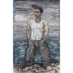 Paul Ryan 'Self Portrait, Bulli Beach'