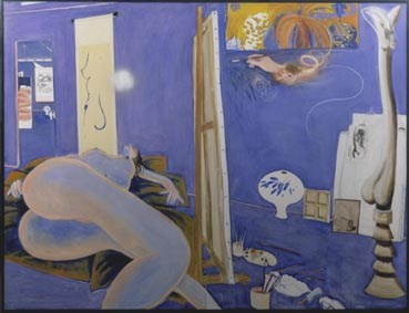 Blue Naked Studio, Brett Whiteley, 1981