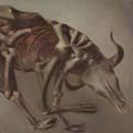 Sidney Nolan, Drought skeleton, 1953