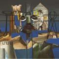 Sidney Nolan, Italian Crucifix 1955