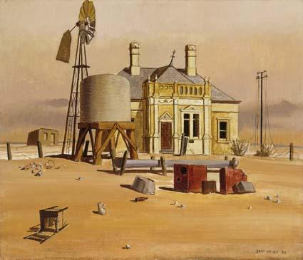Jeffrey Smart, The Wasteland II, 1945