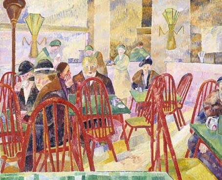 Grace Cossington Smith 'The lacquer room' 1935-36.