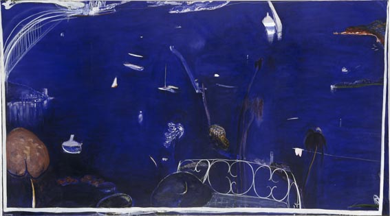 Brett Whiteley - The balcony 2