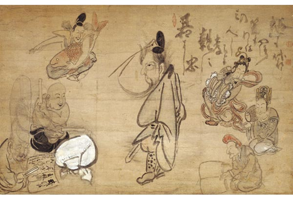 Hakuin Ekaku, Seven Gods of Good Fortune