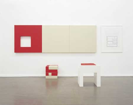 Gail Hastings, difficult art decisions: wall six 1998